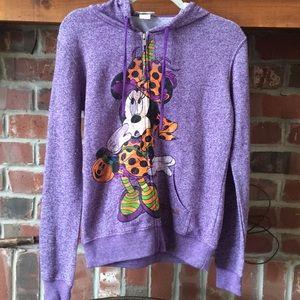 NWT Disney Mini Mouse Halloween Hoodie